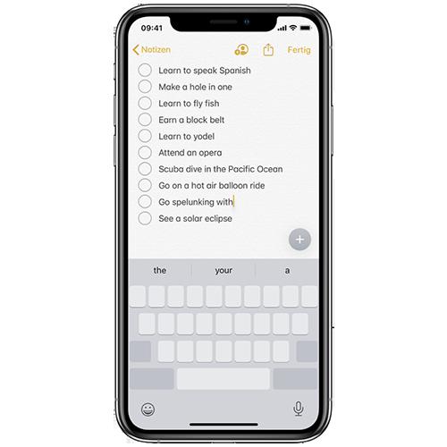 Das iPhone als Trackpad benutzen