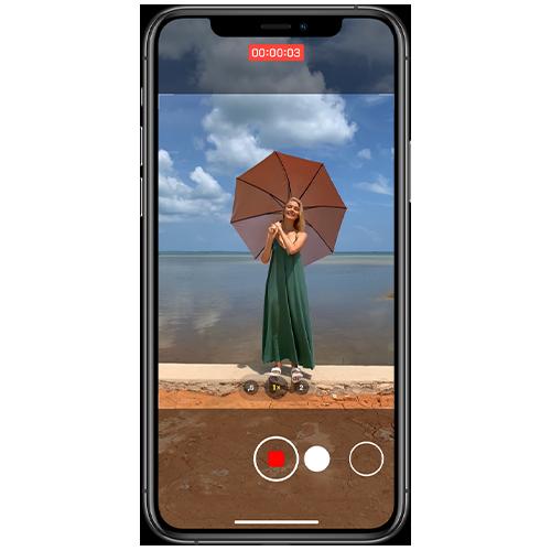 Fotos und Videos gleichzeitig aufnehmen