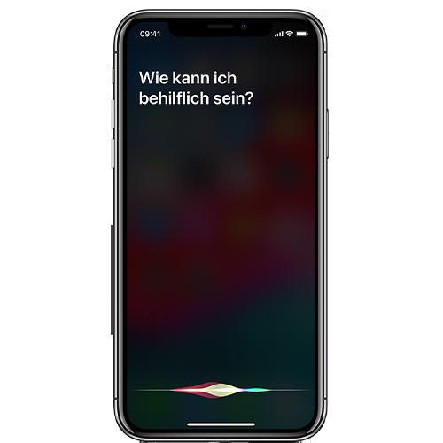 Siri per Sprachbefehl aktivieren