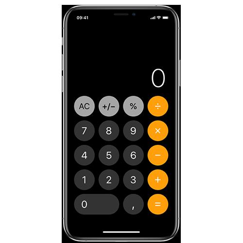 Tricks mit dem iPhone taschenrechner