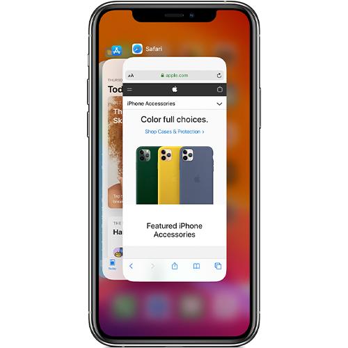 Apps im Hintergrund beenden